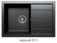 Мойка кварцевая Polygran Tolero R-112bl