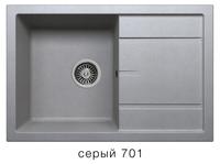 Мойка кварцевая Polygran Tolero R-112se