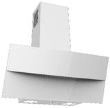 Кухонная вытяжка наклонная Konigin Lattea White 60