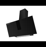 Кухонная вытяжка наклонная  MAUNFELD Aurora 90 черный матовый
