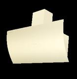 Кухонная вытяжка наклонная  MAUNFELD Sky Star 90 бежевый