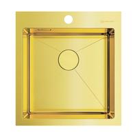Мойка из нержавеющей стали Omoikiri Akisame 46-LG нерж.сталь/светлое золото