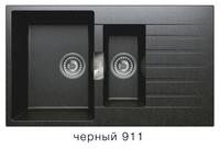 Мойка кварцевая Polygran Tolero LOFT TL-860bl