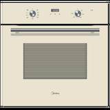 Духовой шкаф электрический Midea MO68100GI