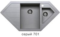 Мойка кварцевая Polygran Tolero R-114se