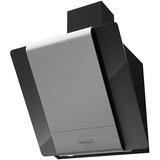 Вытяжка наклонная KRONA TALLI 600 inox/black glass 3P